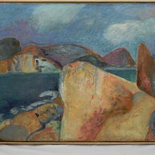 Werner Glich - Mittelmeerlandschaft (Mediterranean)