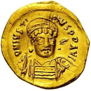 Roman Empire - Solido (oro),Iustinus I