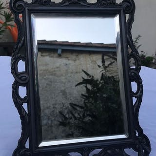 Specchio smussato incorniciato antico francese