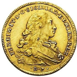 Italia - Regno di Napoli - 6 Ducati 1770 - Ferdinando IV...