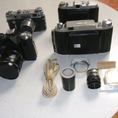 Kodak B11 Zenit E Zorki 6 Solida Record Acc Barnebys