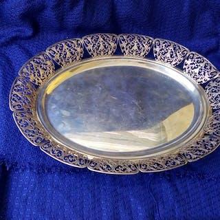 Centrotavola - .925 argento - Portogallo - Prima metà del 20° secolo
