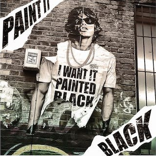 Mr Sly - Paint it Black(Street Art Edition)