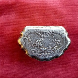 box of the 700 collection - Silver - France - mid 18th century