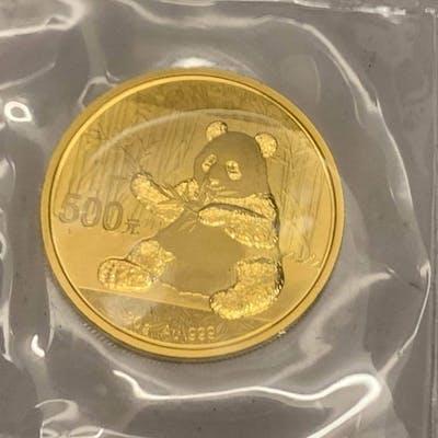 Chine - 500  Yuan 2017 Panda - 30 gr. - Or