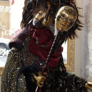 autre - Personnage personnage grandeur nature Carnaval de Venise