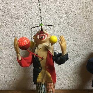 autre - Personnage Clown jongleur et siffleur - Japon