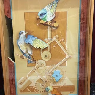 autre - Personnage Etude pour oiseaux mécaniques