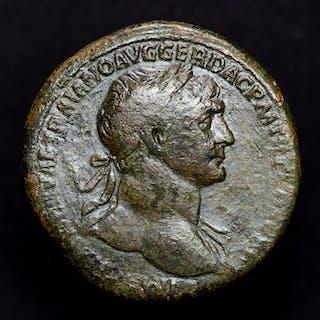 Impero romano - Sestertius - Trajan (98-117 A.D.) Rome...
