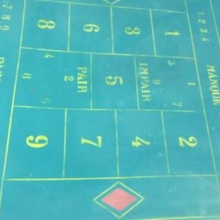 autre - Personnage Table de jeux casino