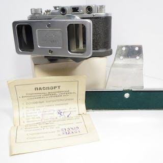 "KMZ Rarely Stereokomplekt for early USSR cameras + ""Zorki"" /PM1125/ (1955)"