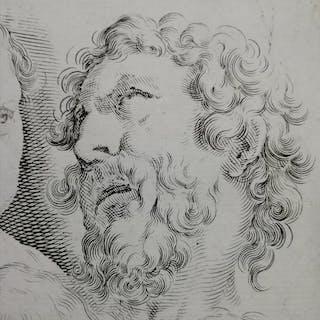 """Giacomo Franco (1550-1620) - """"Studi di teste"""""""