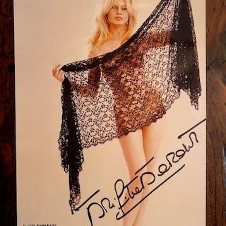 Brigitte Bardot - Large Photo, signed, with COA