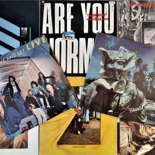 10cc & Related - Lot of eight great albums in EX...