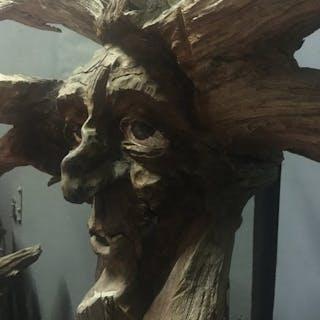 autre - Personnage Sculpture mécanique animée arbre qui parle