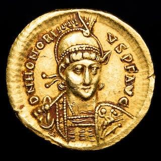 Roman Empire - Solidus - Honorius (393-423 A.D)