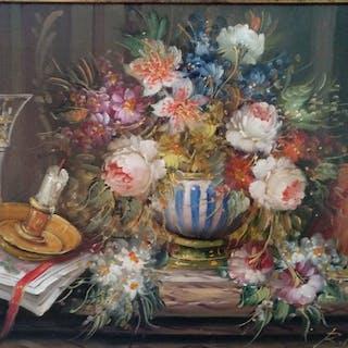 Roberto Michel (Jaén, Spain 1944) - Still life painting