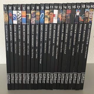 Volkskrant / Taschen-Moderne Meesters. Complete serie van 20- 2010