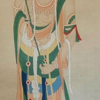 Tuschegemälde - Reispapier - In style of zhang...