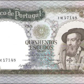 Portugal - 500 Escudo 1958 - Pick 162