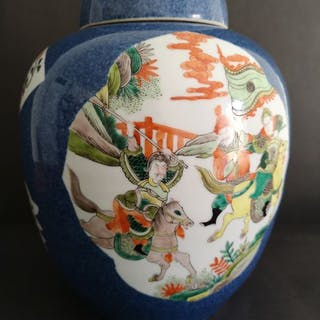 Jar (1) - Porcelain - China - Early 20th century