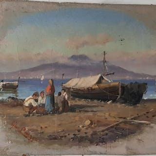 Giuseppe Laezza 1835- 1905 - Marinadi Napoli