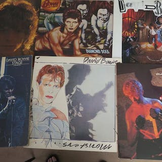 David Bowie - Nice Lot with 6 albums of the Great David...