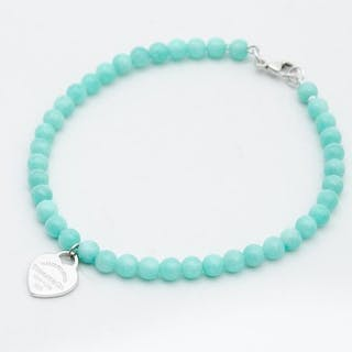 Return to Tiffany Bead Bracelet Silver - Bracelet