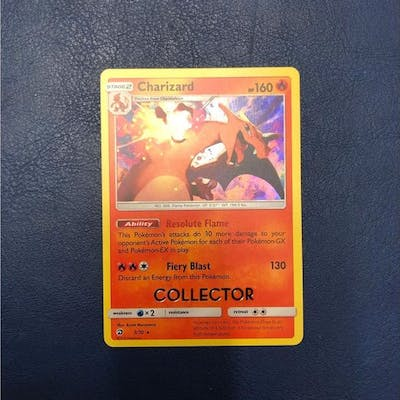 Pokemon - Carta collezionabile Charizard 3/70 Collector Limited Edition