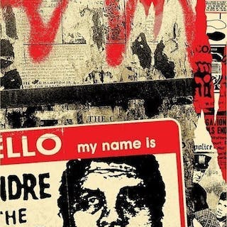 Shepard Fairey (OBEY) - Hello My Name Is