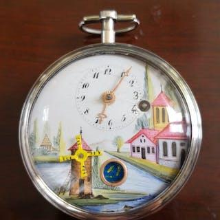 Breguet - Automaton Verge Fusee pocket watch - Herren - Vor 1850