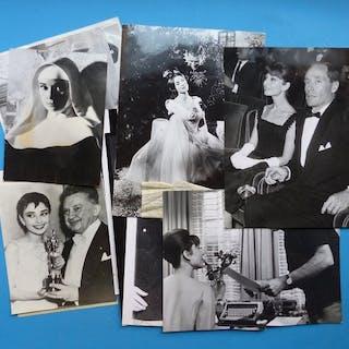 Audrey Hepburn- Set of 10 original Press photos