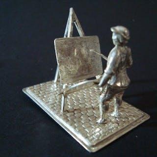 Miniature (1) - .835 silver - H Hooijkaas - Netherlands...