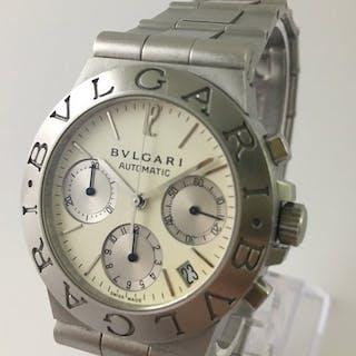 Bulgari - Diagono Chronograph - CH 35 S - Herren - 2000-2010