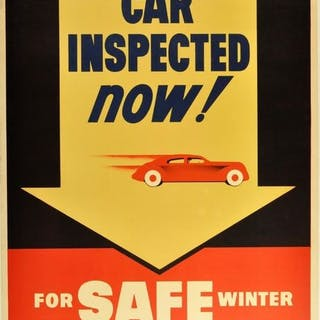 Anonymous - Have Your Car Inspected Now! - Anni '50