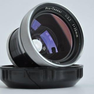 Zeiss Ikon Contaflex SLR + Pro tessar 115mm F4 0 | Barnebys