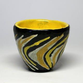 Lívia Gorka (1925-2011) - Mid-Century Flower Pot- Ceramic