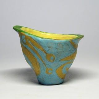 Lívia Gorka (1925-2011) - Mid-Century Amorphous Flower Pot- Ceramic