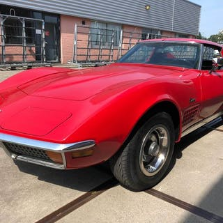 Chevrolet - Corvette - C3 - Stingray - Targa - 350Ci V8 - Chrome Bumpers - 1970