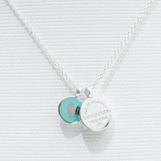 Return to Tiffany Double Round Pendant Silver - Pendant
