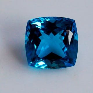 Blautopas - 10.07 ct