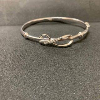 davite e delucchi - 18 kt. White gold - Bracelet Diamond