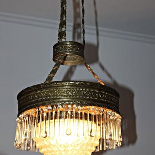Chandelier, Lamp - Neoclassical Style