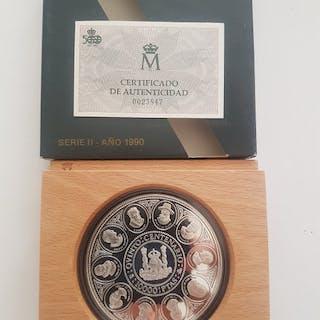 Spain - 10.000 pesetas ( cincuentin ) 1990 V centenario...
