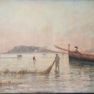 Francesco Saverio Torcia (1840-1891) - Marina di Palermo