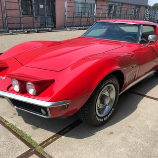 Chevrolet - Corvette - C3 - Stingray - Targa - 350Ci V8  - 1969