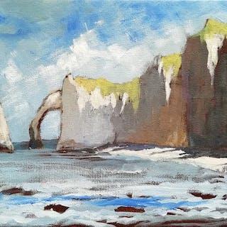 Nicolas Maillet - Normandie, les falaises d'Etretat