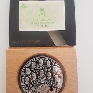Spain - 10.000 pesetas ( cincuentin ) 1992 V centenario...