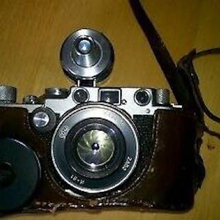Leica (Leitz) IIIF + Fed 52mm F2.8  #534715