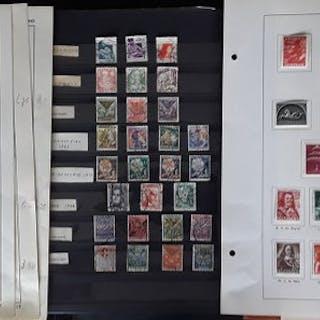Niederlande 1924/1962 - Collection on loose album pages